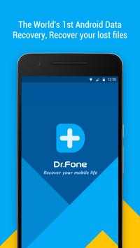 Dr.Fone - Recover deleted data poster