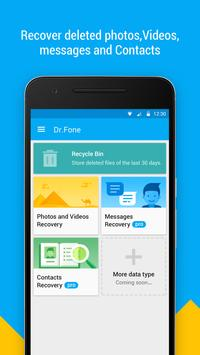 Dr.Fone - Recover deleted data apk screenshot