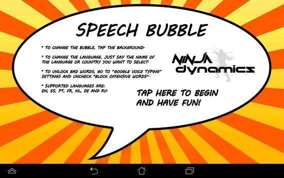 Speech Bubble apk screenshot