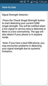 Cell Signal Strength Info screenshot 5