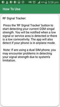 RF Signal Detector - RF Detector screenshot 4