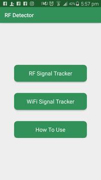 RF Signal Detector - RF Detector poster