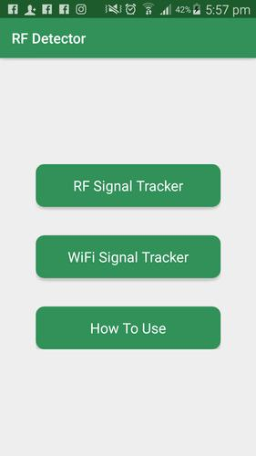 RF Signal Detector - RF Detector for Android - APK Download