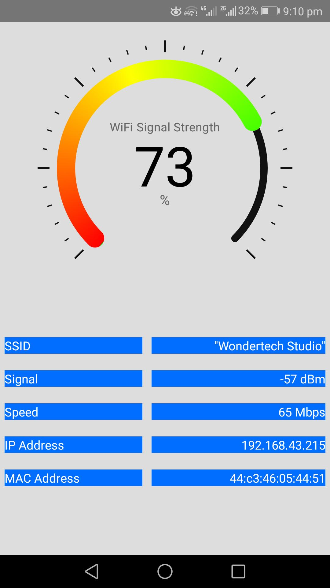 WiFi Signal Strength Meter for Android - APK Download