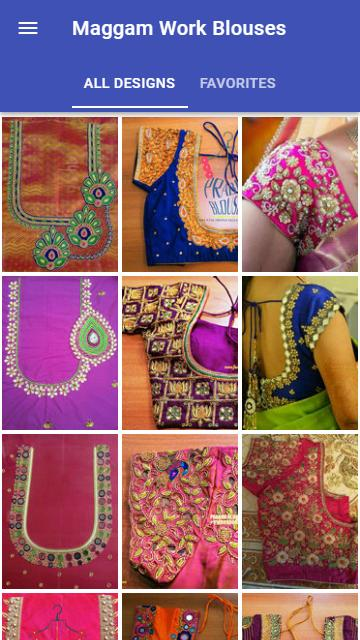 Maggam Work Blouse Designs For Android Apk Download