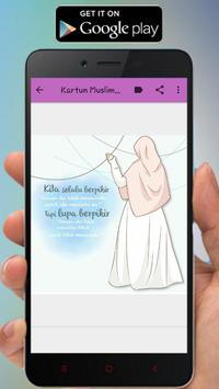 Kartun Muslimah Status WA screenshot 4