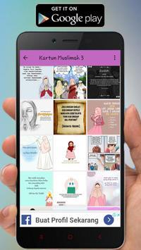 Kartun Muslimah Status WA screenshot 5