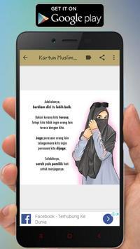 Kartun Muslimah Status WA screenshot 6
