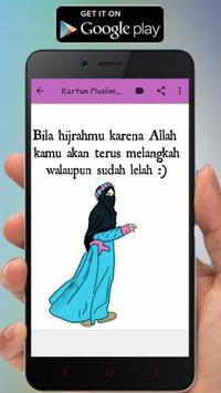 Kartun Muslimah Status WA screenshot 2