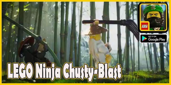Slixia LEGO Ninja: Chrusty Blast poster