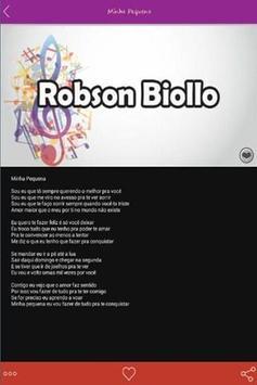 Robson Biollo Letras Top apk screenshot