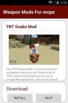 Weapon Mods For mcpe screenshot 16