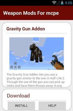 Weapon Mods For mcpe screenshot 2