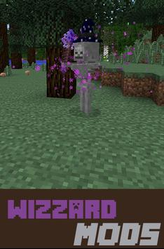 Wizzard Mods For mcpe poster