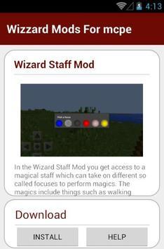 Wizzard Mods For mcpe apk screenshot
