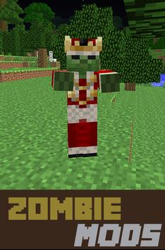 Zombie Mods For mcpe poster