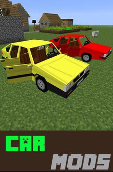 Car Mods For mcpe poster