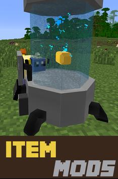 Item Mods For mcpe poster