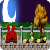 Running Subway Spider Rabbit icon
