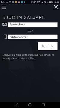 Klubbmobil screenshot 1