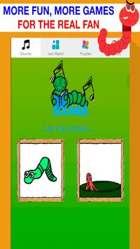 worm games free for kids poster