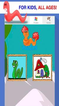 worm games free for kids screenshot 1