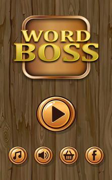 Word Boss poster