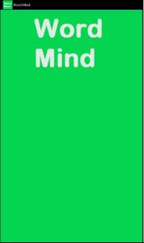 Word Mind poster
