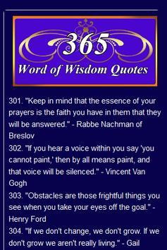 4 Schermata Wisdom Quotes