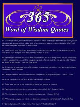 5 Schermata Wisdom Quotes