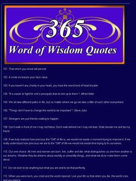 6 Schermata Wisdom Quotes