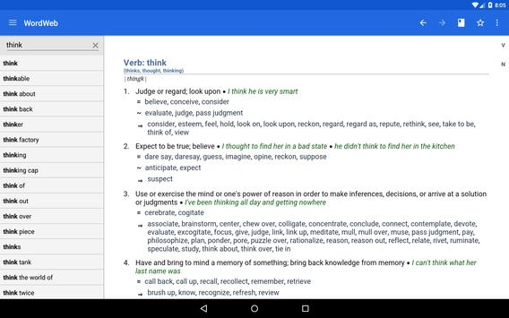 Dictionary - WordWeb apk screenshot