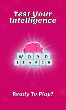 Word puzzle, Word search poster