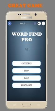Word Find Pro apk screenshot