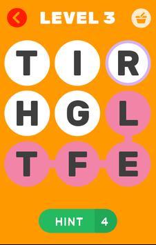 Sample word game apk screenshot