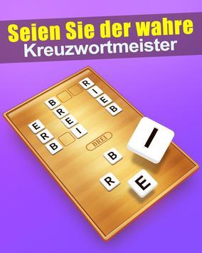 Wort Kreuz poster