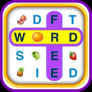 WORD SEARCH - FRUITS VEGETABLE poster