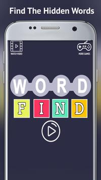 Word Find Puzzles poster