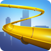Water Slide 3D icon