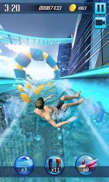 Water Slide 3D poster
