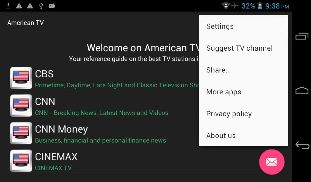 American TV for Android - APK Download