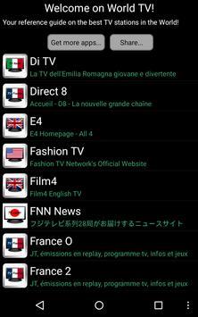 World TV apk screenshot