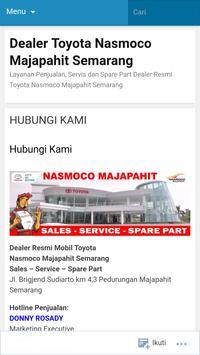 Nasmoco Majapahit screenshot 2