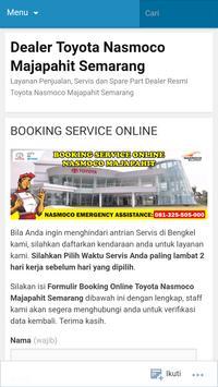 Nasmoco Majapahit screenshot 6