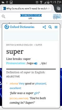 Dictionary Search screenshot 1