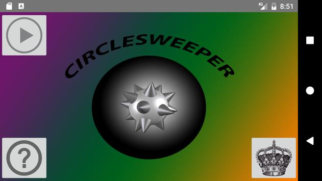 Circlesweeper (Minesweeper) poster