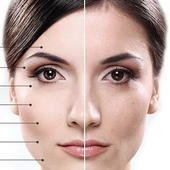 Skin care tips icon