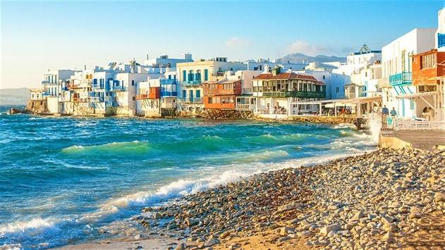 MYKONOS TRAVEL GUIDE poster