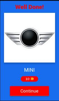 Cars Logos Quiz apk screenshot
