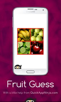 Fruit Guess poster